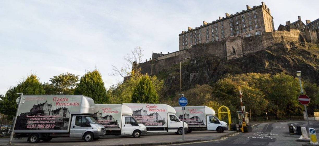 Castle Removals Edinburgh